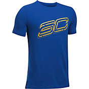 Under Armour Boys' SC30 Always On Graphic Basketball T-Shirt