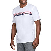Under Armour Men's Freedom Chest Lines T-Shirt