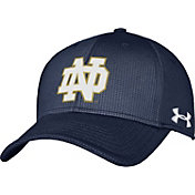 Under Armour Men's Notre Dame Fighting Irish Navy Blitzing Stretch Fit Hat