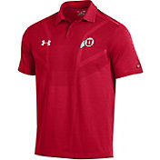 Under Armour Men's Utah Utes Crimson Tour Polo
