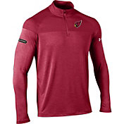 Under Armour NFL Combine Authentic Men's Arizona Cardinals Tech Novelty Red Quarter-Zip Pullover