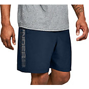 Under Armour Men's Woven Wordmark Graphic Shorts
