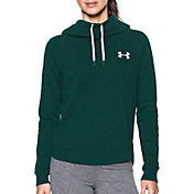 Under Armour Women's Favorite Fleece Chest Logo Funnel Neck Hoodie