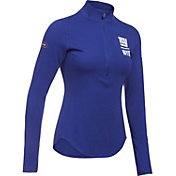 Under Armour NFL Combine Authentic Women's New York Giants Favorites Half-Zip Blue Pullover