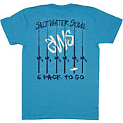 Salt Water Soul Men's 6 Pack To-Go T-Shirt