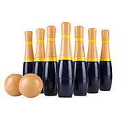 Hey! Play! Wooden Lawn Bowling Game