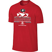 The Victory Men's Georgia Bulldogs 2017 SEC Football Champions Locker Room T-Shirt