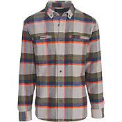 Woolrich Men's Oxbow Pass Plaid Flannel Long Sleeve Shirt