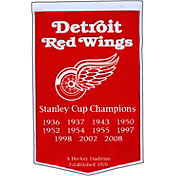 Detroit Red Wings Dynasty Banner