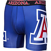 Fandemics Men's Arizona Wildcats Navy Boxer Brief Style Base Layer