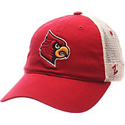 Zephyr Men's Louisville Cardinals Cardinal Red/White University Adjustable Hat