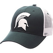 Zephyr Men's Michigan State Spartans Green/White Big Rig Adjustable Hat