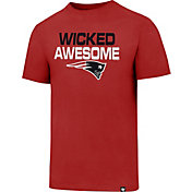 '47 Men's New England Patriots Wicked Awesome Red T-Shirt