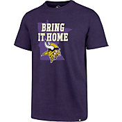 '47 Men's Minnesota Vikings Bring Home Purple T-Shirt
