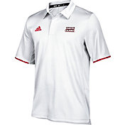 adidas Men's Louisiana-Lafayette Ragin' Cajuns White Sideline Iconic Polo