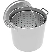 LoCo 42-Quart Aluminum Pot with Strainer