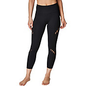 Betsey Johnson Women's Criss-Cross Diagonal 7/8 Leggings