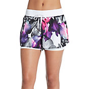 CALIA by Carrie Underwood Women's Two-In-One Printed Shorts