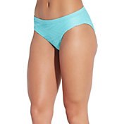 CALIA by Carrie Underwood Women's Texture Wide Banded Swim Bottom