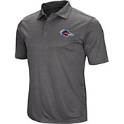 Colosseum Men's UT San Antonio Roadrunners Grey Cut Shot Polo
