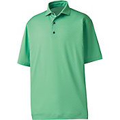 FootJoy Men's Tonal Wave Lisle Print Golf Polo