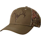 Field & Stream Camo Technical Embroidered Skull Hat