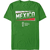 Fifth Sun Men's 2018 FIFA World Cup Mexico Ringer Green T-Shirt