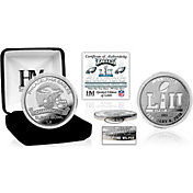 Highland Mint Super Bowl LII Champions Philadelphia Eagles Pure Silver Mint Coin