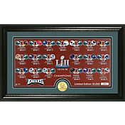 Highland Mint Super Bowl LII Champions Philadelphia Eagles 'Match Up' Photo Mint