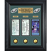 Highland Mint Super Bowl LII Champions Philadelphia Eagles Deluxe Gold Coin and Ticket Collection