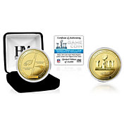 Highland Mint Super Bowl LII Dueling Gold Flip Coin