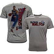 Levelwear Men's Philadelphia 76ers Ben Simmons Breakaway Grey T-Shirt