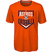 Majestic Boys' Houston Astros Dri-Tek Run Scored T-Shirt