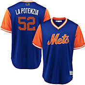 Majestic Men's New York Mets Yoenis Cespedes 'La Potencia' MLB Players Weekend Jersey