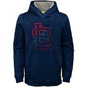 Majestic Youth St. Louis Cardinals Battle Pullover Hoodie