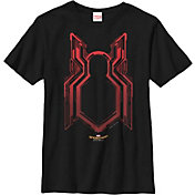 Fifth Sun Boys' Marvel Carbon Crest Graphic T-Shirt