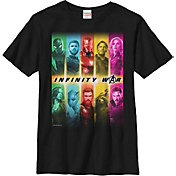 Fifth Sun Boys' Marvel Avengers Infinity Wars Bars Graphic Tee