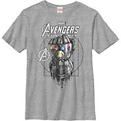 Fifth Sun Boys' Marvel Avengers Infinity Wars Ancient Gauntlet Graphic Tee