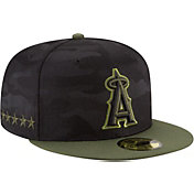 New Era Men's Los Angeles Angels 59Fifty 2018 Memorial Day Fitted Hat