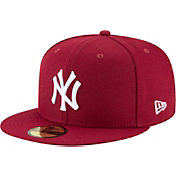 New Era Men's New York Yankees 59Fifty Basic Red Fitted Hat