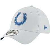 New Era Men's Indianapolis Colts Sideline Training Camp 39Thirty Grey Stretch Fit Hat