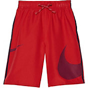 Nike Boys' Macro Logo Diverge Swim Trunks
