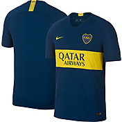 Nike Men's Boca Juniors 2018 Breathe Stadium Home Replica Jersey