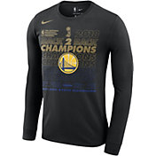 Nike Men's 2018 NBA Champions Golden State Warriors Locker Room Long Sleeve Shirt