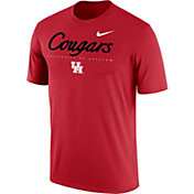 Nike Men's Houston Cougars Red Football Dri-FIT Facility T-Shirt
