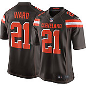 Denzel Ward Nike Men's Cleveland Browns Home Game Jersey