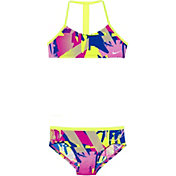 Nike Girls' Drift Graffiti T-Back Top Brief Set