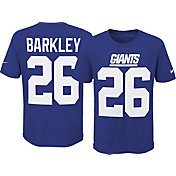 Nike Youth New York Giants Saquon Barkley #26 Pride Blue T-Shirt