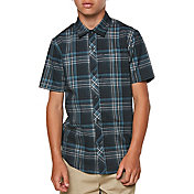 O'Neill Boys' Sturghill Woven Short Sleeve Shirt