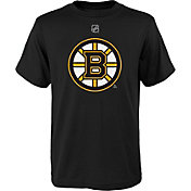 NHL Youth Boston Bruins Primary Logo Black T-Shirt